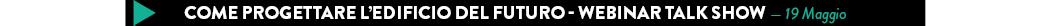 Come progettare l'edificio del futuro - Webinar Talk Show