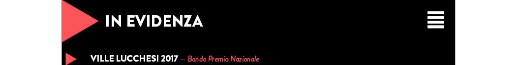 Ville Lucchesi 2017 — Bando Premio Nazionale