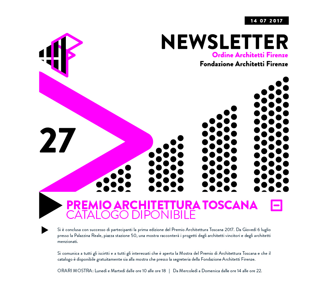Premio Architettura Toscana - Catalogo