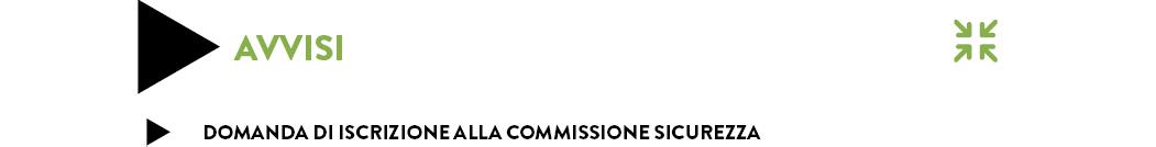 domanda iscrizione commissione sicurezza