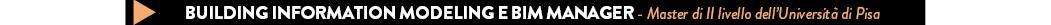 Bim manager - master università Pisa