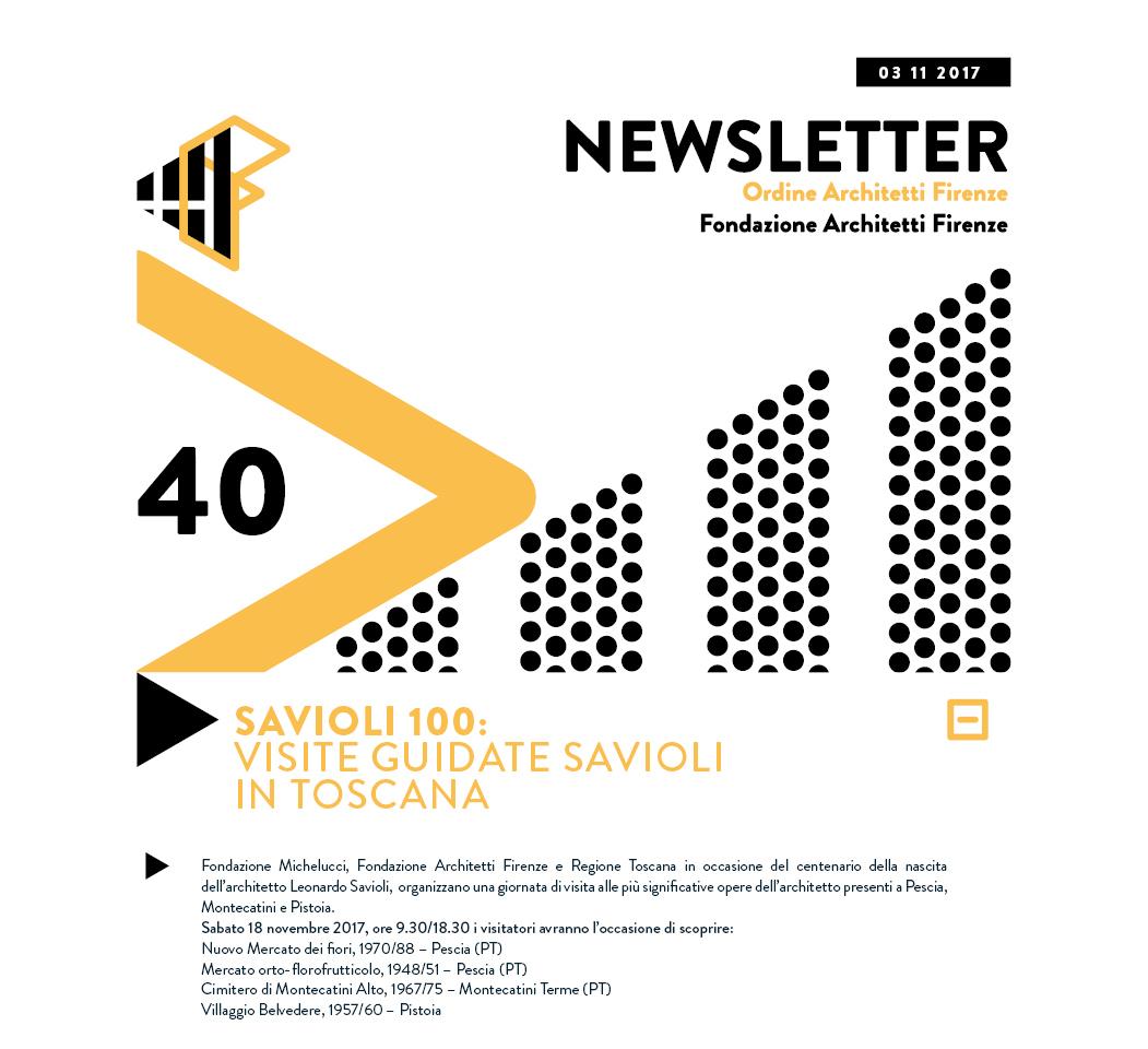 Savioli 100 - VISITE GUIDATE SAVIOLI IN TOSCANA
