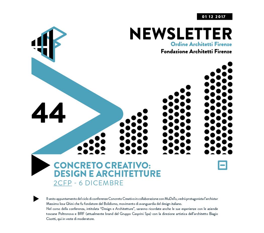 CONCRETO CREATIVO: DESIGN E ARCHITETTURA 2CFP - 6 dicembre