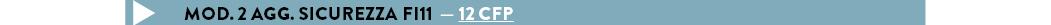 MOD. 2 AGG. SICUREZZA FI11  — 12 cfp