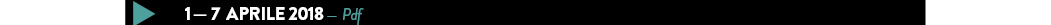 1 — 7 aprile 2018 — Pdf