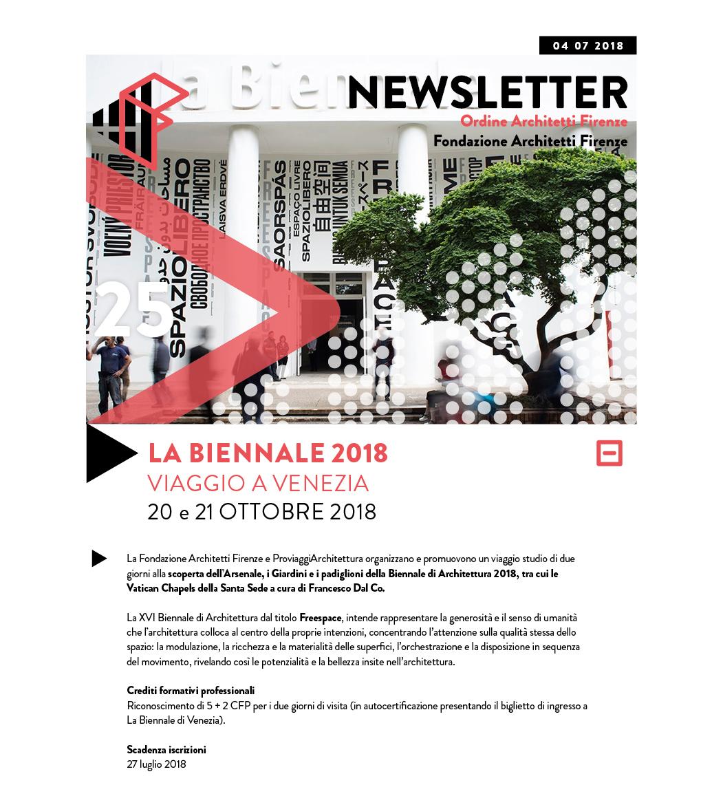 LA BIENNALE 2018 VIAGGIO A VENEZIA 20 e 21 ottobre 2018