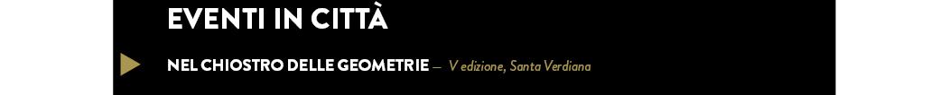 Nel chiostro delle geometrie —  V edizione, Santa Verdiana
