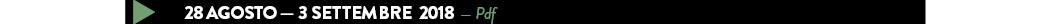 28 agosto — 3 SETTEMBRE  2018  — Pdf