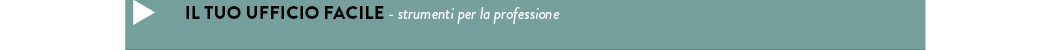 IL tuo ufficio facile - strumenti per la professione